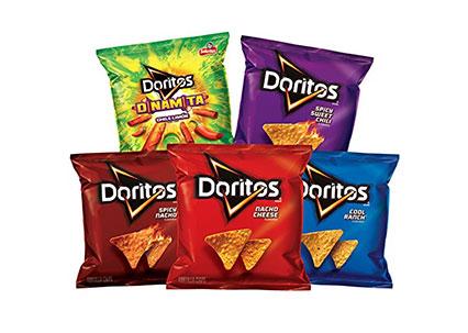 Doritos Flavored Tortilla Chip Variety Pack