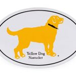 FREE Yellow Dog Nantucket Sticker Preppy Golden Retriever