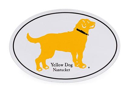 FREE Yellow Dog Nantucket Sticker Preppy Golden Retriever