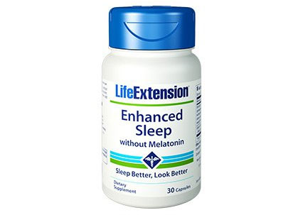 Life Extension Enhanced Sleep without Melatonin