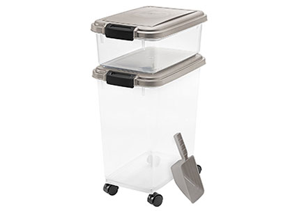 Airtight Pet Food Storage Containers