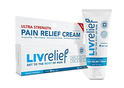 FREE LivRelief Pain Relief Cream