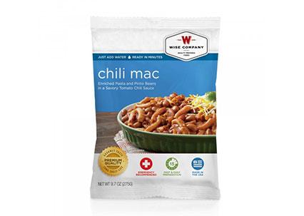 free chili mac sample