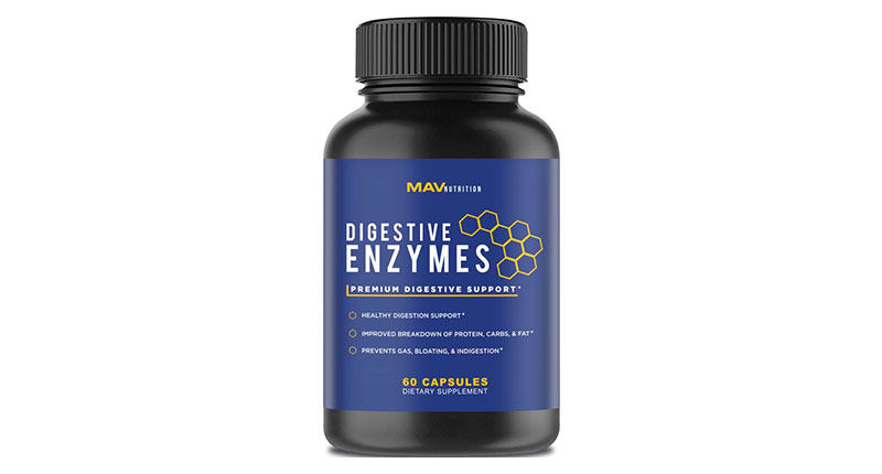 mav nutrition premium digestive enzymes