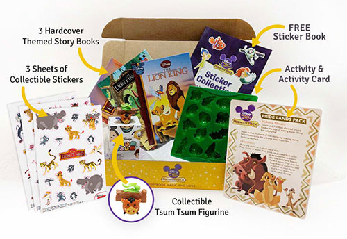 disney subscription packs