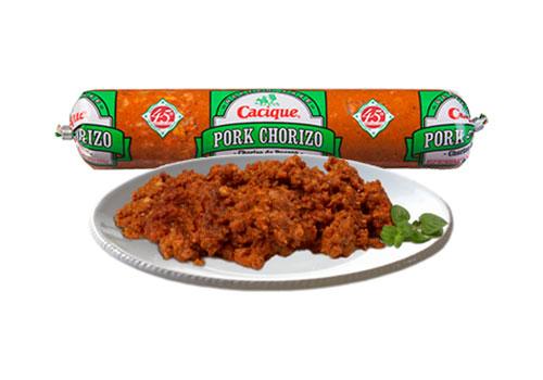 free cacique pork chorizo