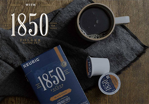 free folgers 1850 coffee sample