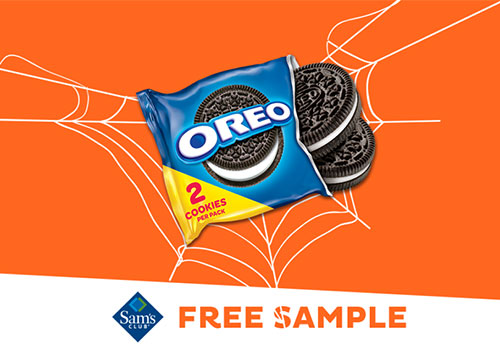free oreo cookies sample