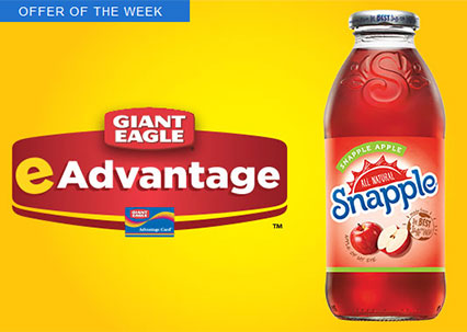 free snapple or snapple straght up tea