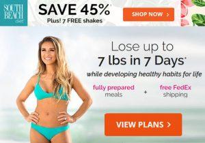 south beach diet promo code