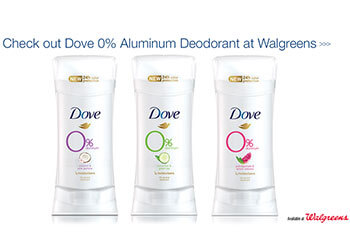 dove deodorant aluminum free party