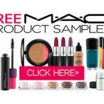 mac cosmetics free samples