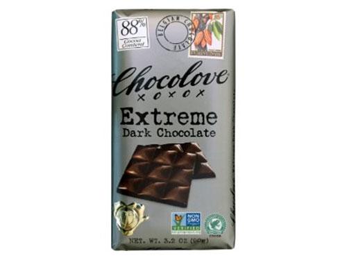 free chocolove extreme dark bar