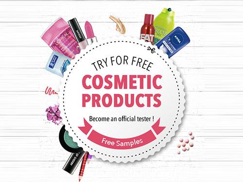 free cosmetic samples