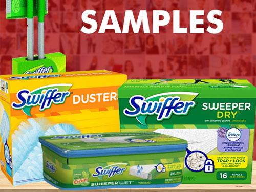 free swiffer samples