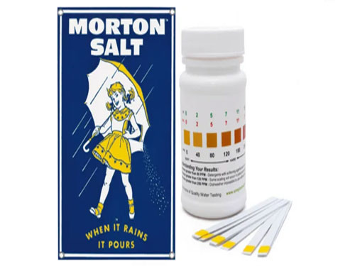 free morton salt water test strip