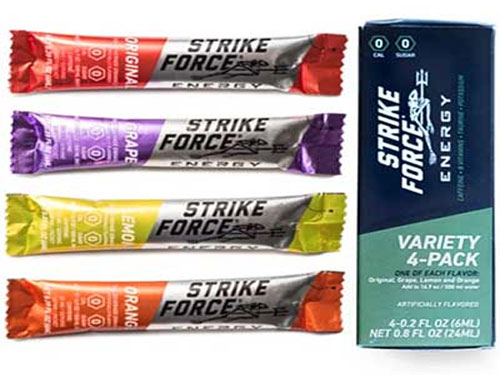 free strike force energy drink mix samples