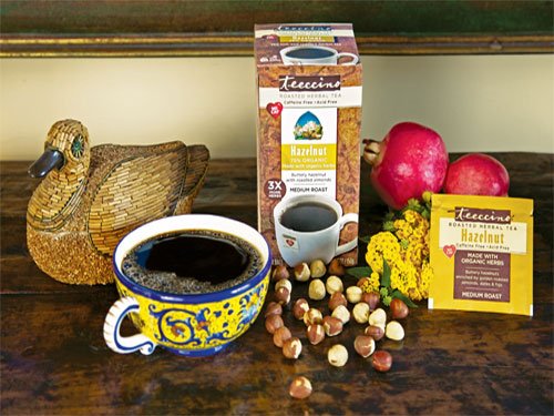 free teeccino roasted herbal tea sample