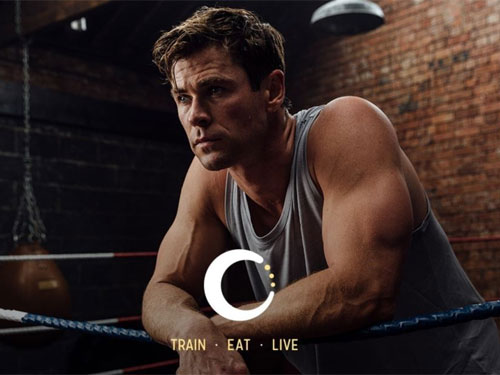free 6 weeks centr workout trial with chris hemsworth