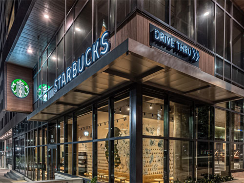 free coffee for front line responders at starbucks