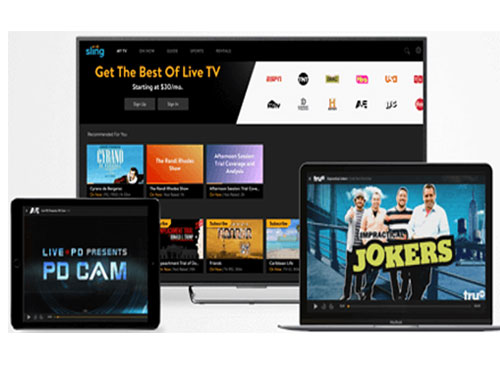 free live tv streaming shows & movies from sling tv