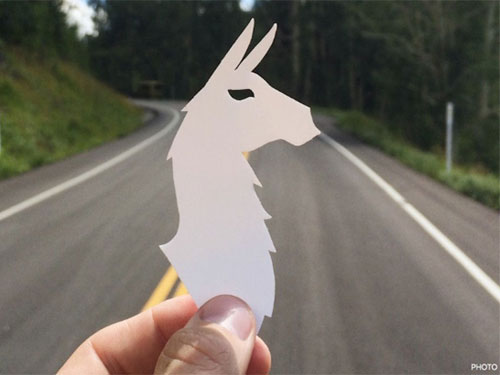 free llama stickers