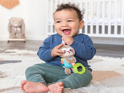 free wee wild ones toys bundle from infantino
