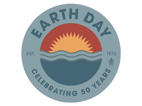 free earth day sticker