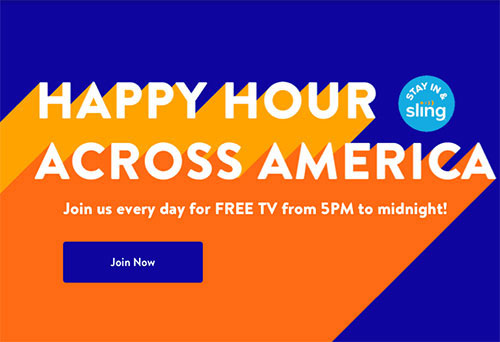 sling tv free trial no credit card
