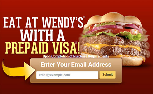 wendys gift card